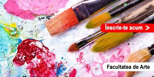 Admitere Online - Facultatea de Arte