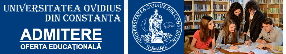 Admitere – Universitatea Ovidius din Constanta